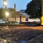 07.10.2017 - Залит фундамент первого башенного крана