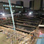 23.11.2017 - Завершены работы по устройству фундаментной плиты 1-й секции