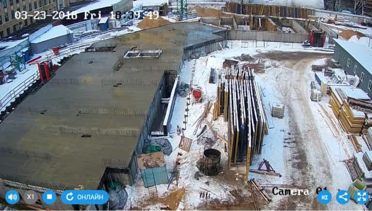 23.03.2018 - Залита плита перекрытия над техническим этажом 2-й секции