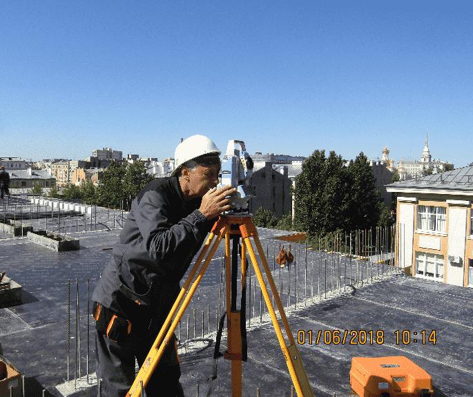 01.06.2018 - Армирование перекрытия над 5-м этажом 2-й секции