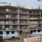 Залита плита перекрытия над 5-м этажом 2-й секции