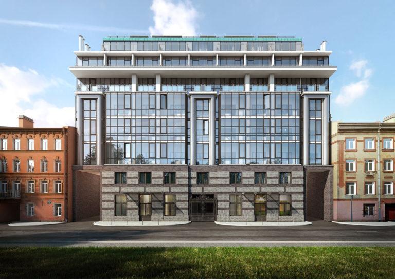 Днепропетровская 37 - Современный жилой комплекс в центре Петербурга