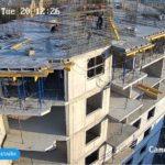 Армирование стен 9-го этажа 2-й секции