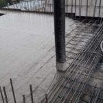 Залита плита перекрытия над 10-м этажом 1-й секции