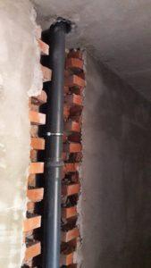 Выполнена ливневая канализация в 1-3 секциях