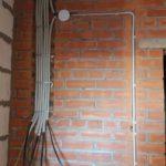 Продолжаются электромонтажные работы в 1-3 секции