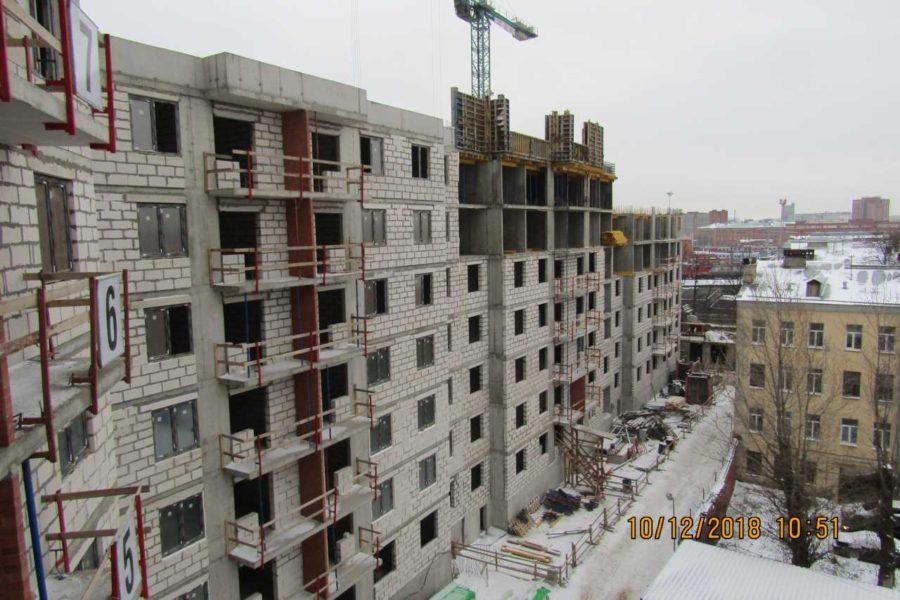 10.12.2018 - Ход строительства