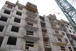 Активно продолжается строительство на всех секциях