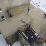 Продолжаются работы по бетонированию 6-й секции