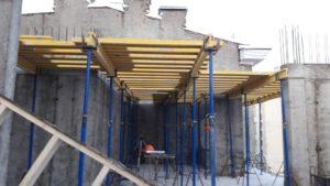Армирование стен 3-го этажа 6-й секции