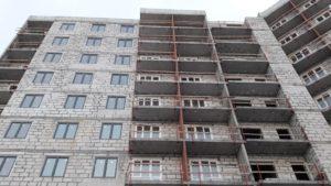 Выполнены работы по возведению монолитных железобетонных конструкций 1,2,3,4,5 секций