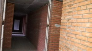 Выполнены работы по возведению внутренних стен из кирпича 1,2,3,4,5 секций.