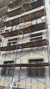 работы по устройству вентилируемого фасада