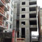 залита плита перекрытия над 7-м этажом 6-й секции