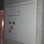 Установлены поэтажные электрощиты 1,2,3 секций