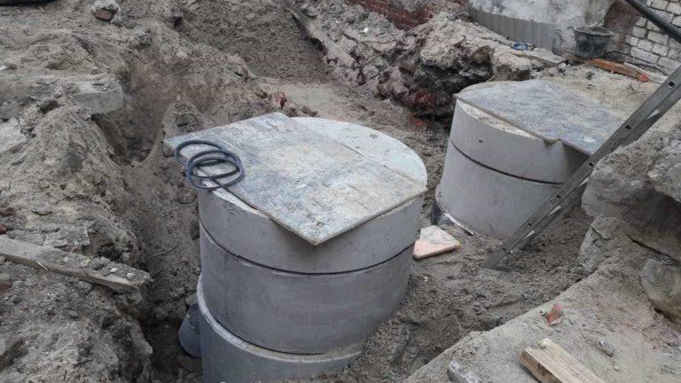 13.07.2019 - Продолжается прокладка наружной канализации