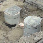 Продолжается прокладка наружной канализации