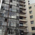 Началось остекление балконов