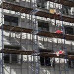 Продолжаются работы по монтажу вент. фасада