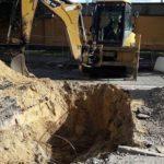 Завершены работы по наружному водопроводу ЖК Днепропетровская 37