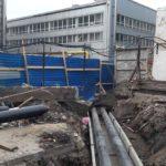 Проложена наружная теплотрасса ЖК Днепропетровская 37