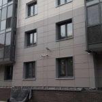 Фасадные работы ЖК Днепропетровская 37