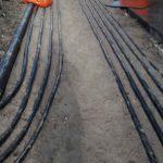 Вводы электрического кабеля ЖК Днепропетровская 37