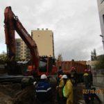 Ленэнерго осуществляет прокладку наружных электрических сетей ЖК Днепропетровская 37