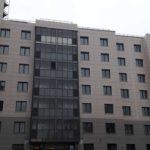 Фасады 1-5 секций ЖК Днепропетровская 37