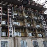 Начат монтаж витражей 6 ЖК Днепропетровская 37 секции