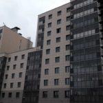 Завершаются фасадные работы на 1-5 секциях ЖК Днепропетровская 37
