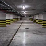 Завершаются работы в паркинге ЖК Днепропетровская 37