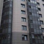 Завершены витражные работы с 1 по 5 секцию ЖК Днепропетровская 37