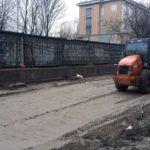 Начаты работы по благоустройству ЖК Днепропетровская 37