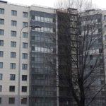 Завершены фасадные работы с 1 по 5 секцию ЖК Днепропетровская 37