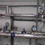 Завершен монтаж ИТП. Включено отопление в квартирах. ЖК Днепропетровская 37