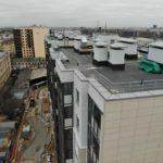 Ход строительства 27.02.2020 год ЖК Днепропетровская 37