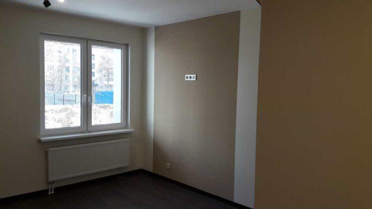 Пример отделки квартиры. ЖК Днепропетровская 37
