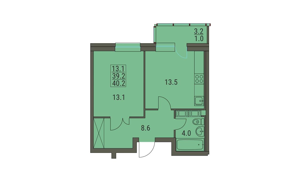 Квартира 282