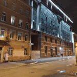 Фасад секции 6 ЖК Днепропетровская 37